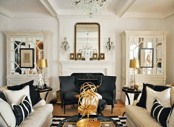 art deco stil bei der einrichtung 36 verbl ffende ideen. Black Bedroom Furniture Sets. Home Design Ideas
