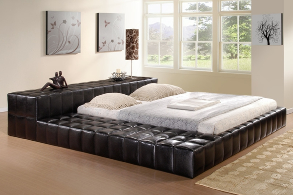 moderne betten design wohndesign. Black Bedroom Furniture Sets. Home Design Ideas