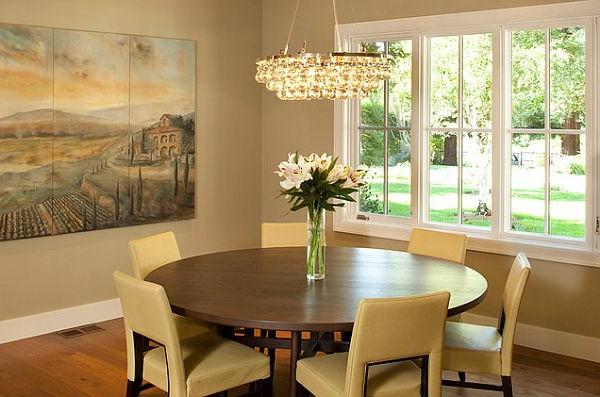 Runde tische sind mehr als reine dekoration - Runde sitzbank esszimmer ...