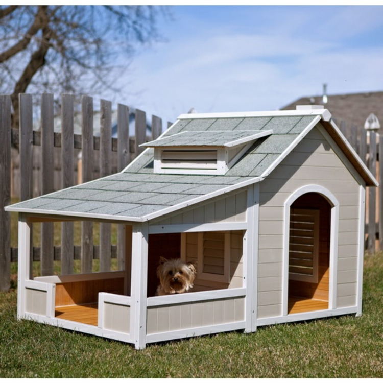 Hundehaus die skurrilsten beispiele die es gibt for Large breed dog house