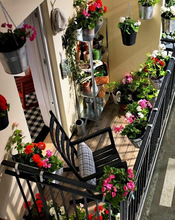 balkon-deko-mit-pflanzen