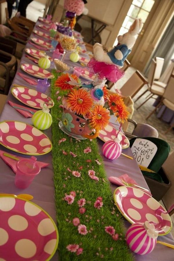 Tischgestaltung -zum-Kinderparty