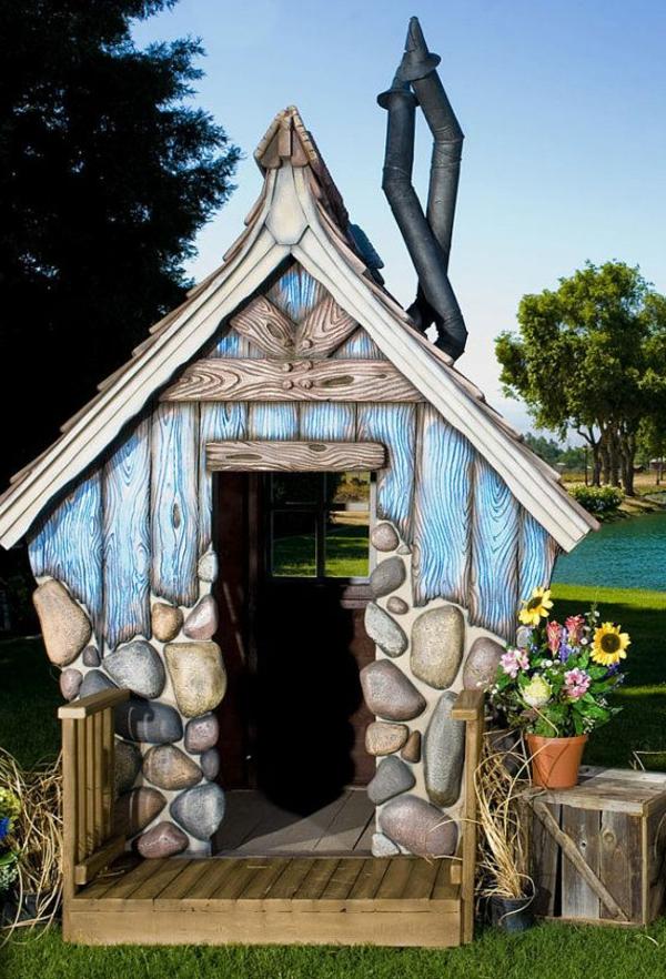 Chestha.com | Spielhaus Idee Garten Spielhaus Im Garten Verspricht Abenteuer Pur Im Eigenen Hinterhof