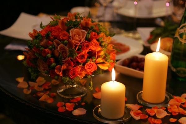 Romantische Überraschung Zum Valentinstag  U003e Romantisch Abend Zuhause