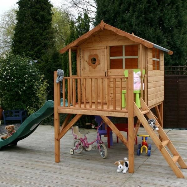 Das spielhaus super spa f r die kinder - Was kostet eine baugenehmigung fur ein gartenhaus ...