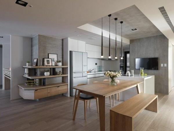 eine-schöne--holzbank-im-esszimmer-interior-design-ideen