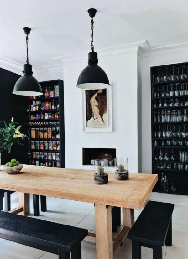 eine-wunderschöne-holzbank-im-esszimmer-interior-design-ideen