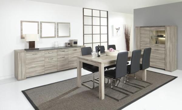 elegantes-esszimmer-möbelset-esszimmerstühle-esszimmertisch-design-ideen