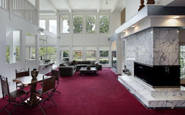 erstaunliches-interior-design-roter-teppich