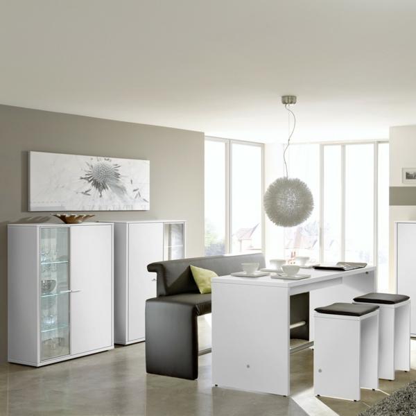 Esszimmer komplett gestalten 60 ideen for Wohnzimmer komplett neu gestalten ideen