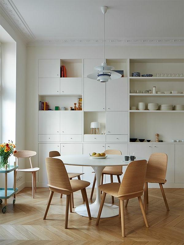 esszimmer-ideen-moderner-esstisch-esszimmerstühle-holz-tolles-design