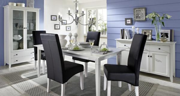 esszimmer-komplett-esszimmer-einrichten-möbelset-schwarze-esszimmerstühle