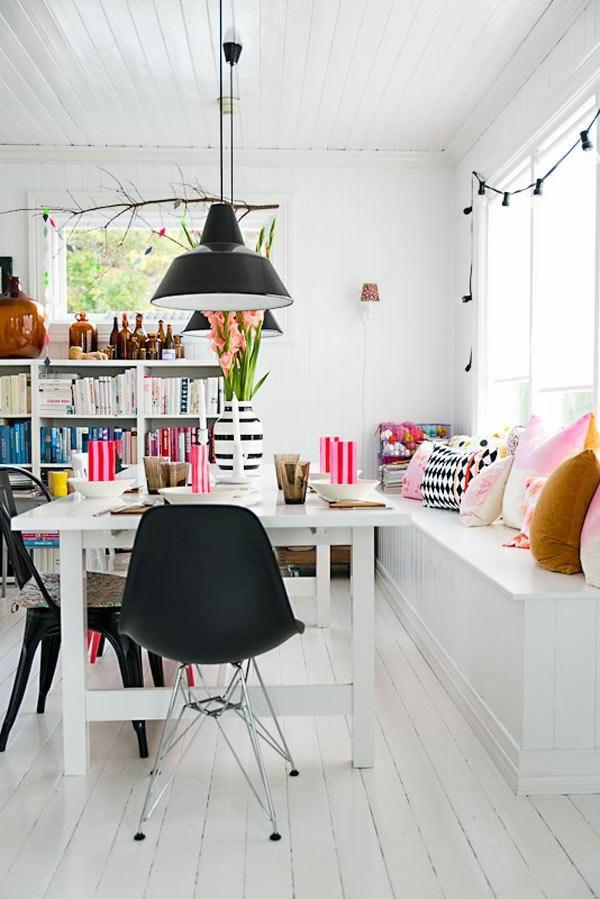 esszimmer-komplett-sitzbank-esszimmer-schöne-interior-design-ideen--holzbank-weiß