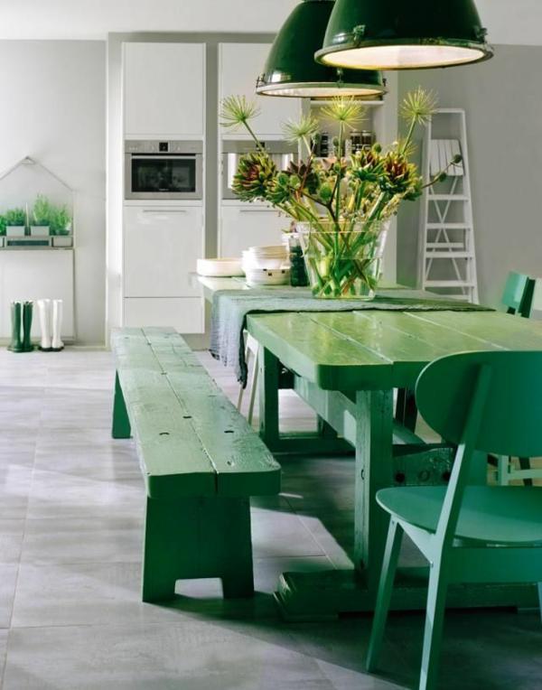 esszimmer-komplett-sitzbank-esszimmer-schöne-interior-design-ideen-in-grün