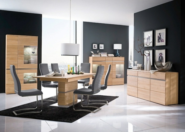 esszimmer komplett gestalten 60 ideen. Black Bedroom Furniture Sets. Home Design Ideas