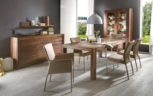 esszimmer-nussbaum-massiv-geoelt-möbelset-für-das-esszimmer-einrichten-design-innendesign-ideen