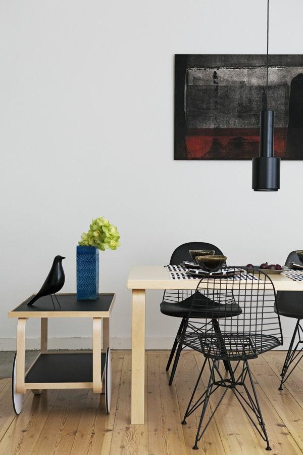Ein faszinierendes Esszimmer einrichten - 66 Ideen ! - Archzine.net