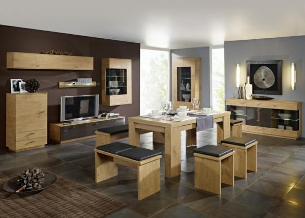 Esszimmer komplett gestalten 60 ideen - Esszimmer einrichtung aktuell design ...
