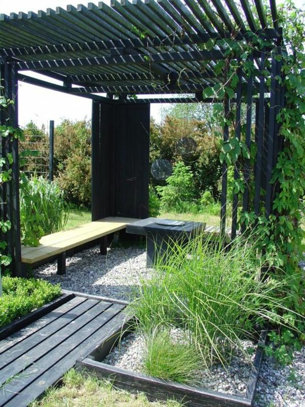exterior-design-ideen-für-den-außenbereich-garten-und-landschaftsbau-holzbank