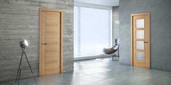 Zimmertüren holz modern  Moderne Zimmertüren - vielfältige Modelle! - Archzine.net