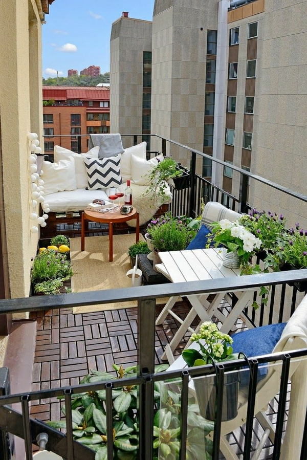 fantastische-moderne-balkonmöbel-balkon-gestalten