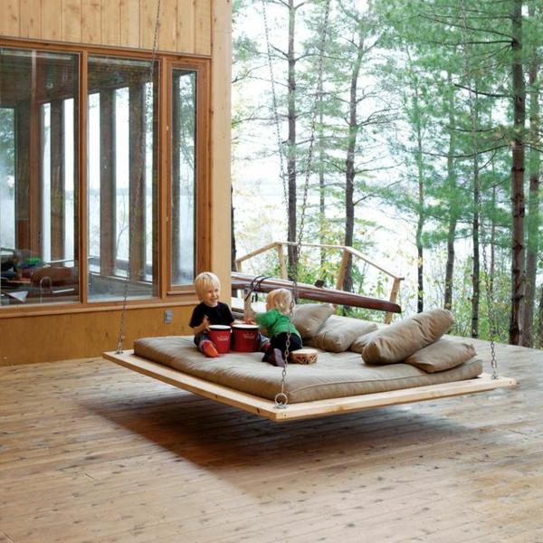Treppenstufen Holz FUr Den Aussenbereich ~ Genießen Sie eine komfortable Schaukel in Ihrem eigenen Garten!
