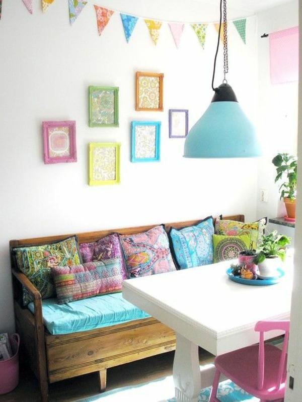 fantastisches-interior-design-ideen-sitzbank-holz-im-esszimmer