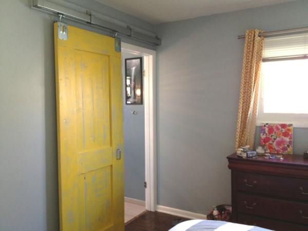 furniture-antique-yellow-painted-maple-wood-wall-sliding-doors-interior-with-yellow-cotton-window-curtain-and-cherry-wood-wardrobe-amusing-wall-sliding-doors-interior