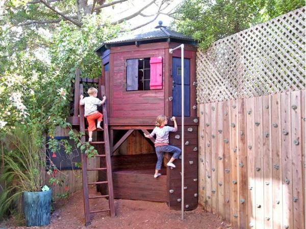 gartenhaus-kletterwand-zum-spielen-ein-platz-für-die-kinder