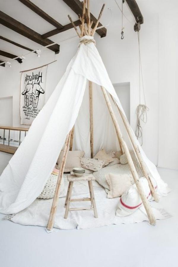Originelle Einrichtungsideen Zelt Im Hause Archzine Net