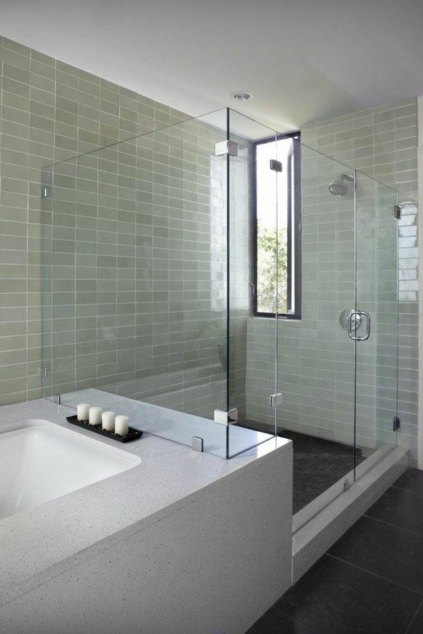 Sichtschutzfolie Fur Glasturen : glastür-für-das-badezimmer-modern ...
