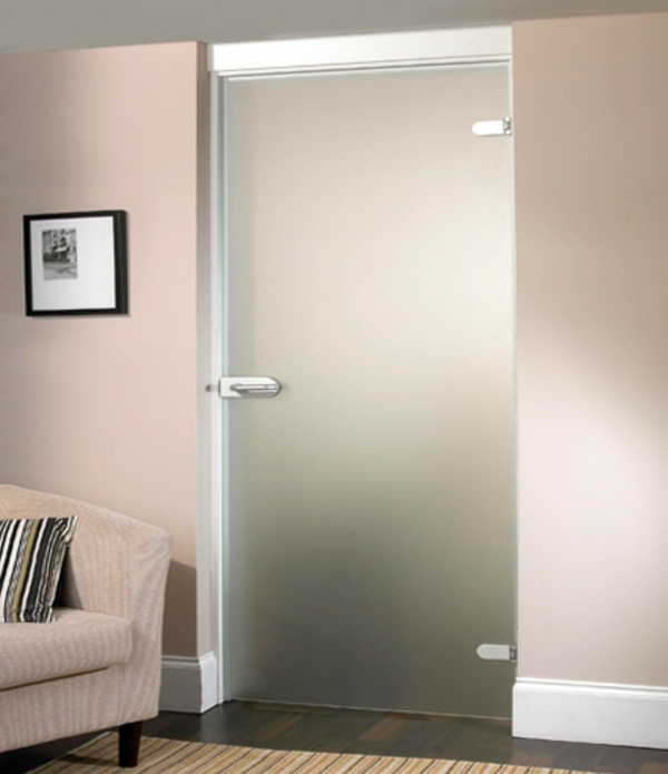 Innentüren mit milchglas  Glastüren für Innen - modern und elegant! - Archzine.net