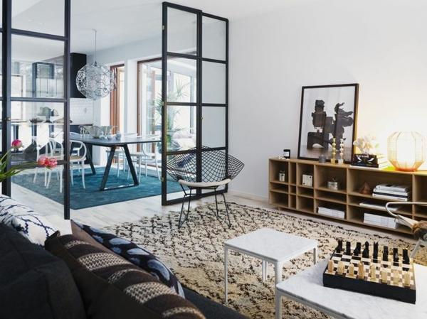 glastüren-innenüren-innendesign-interior-design-ideen-glasschiebetüren-mit-rahmen