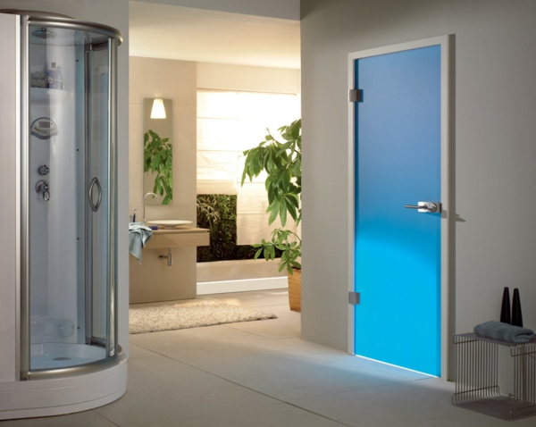 glastüren-innen-fantastische-blaue-farbe-badezimmertür