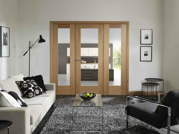 glastüren-mit-holzrahmen-innentüren-design-ideen