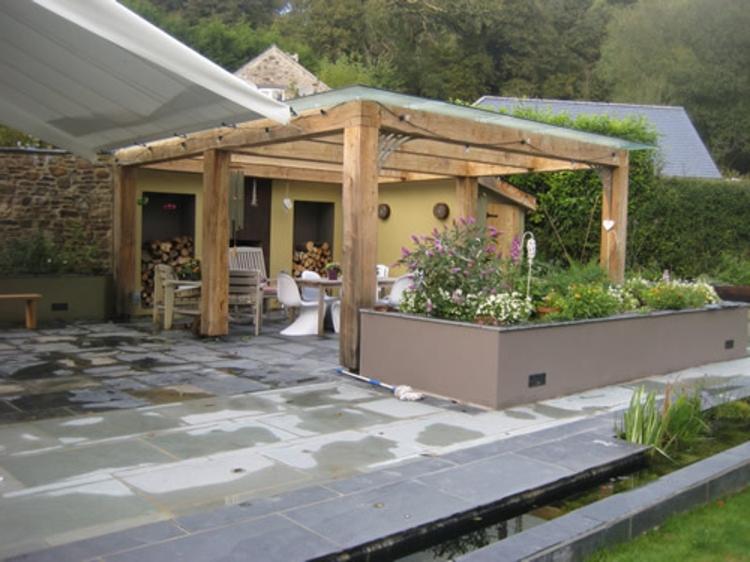 Pergola Dach Die Herausragendsten Designideen
