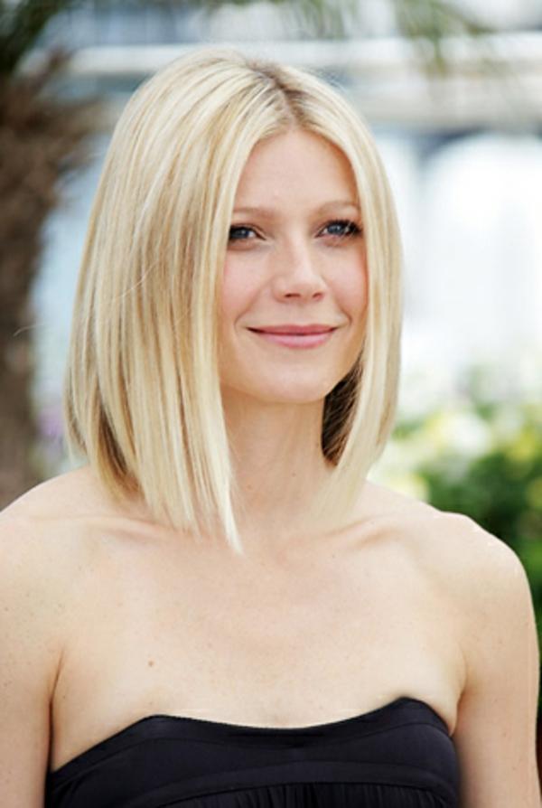 frisur für rundes gesicht - sehr schöne blonde kurze haare