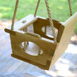Babyschaukel - wunderbare Vorschläge für Innen und Außen !
