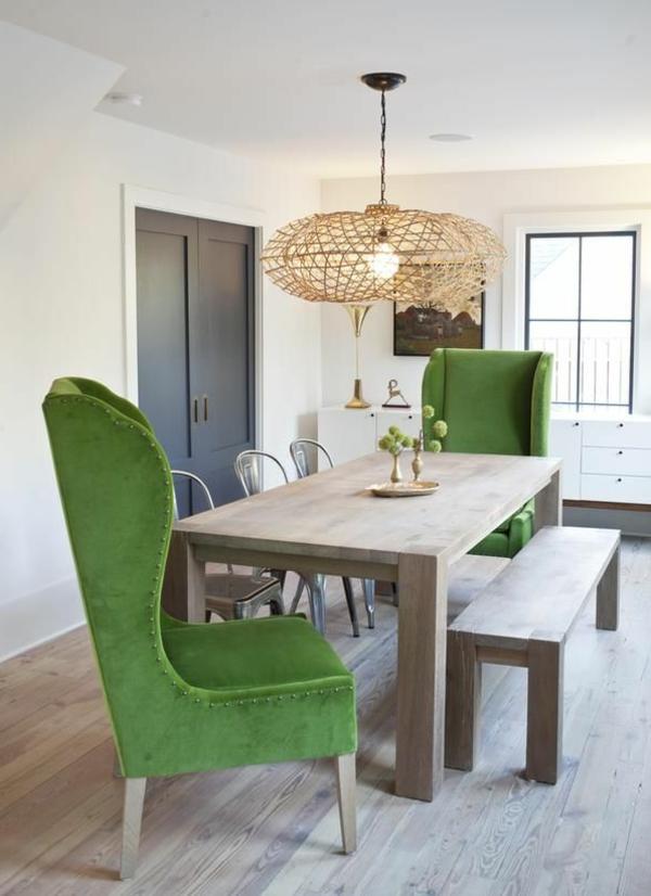 Sitzbank im Esszimmer - eine schöne Idee! - Archzine.net