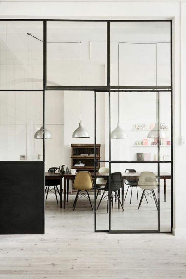 innentüren-design-ideen-interior-design-wohnideen-glastüren Glastüren für Innen