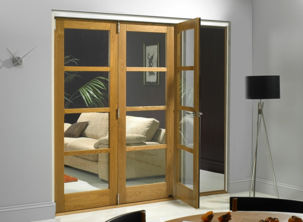 innentüren-glas-mit-holzrahmen-moderne-gestaltung-für-den-innenbereich