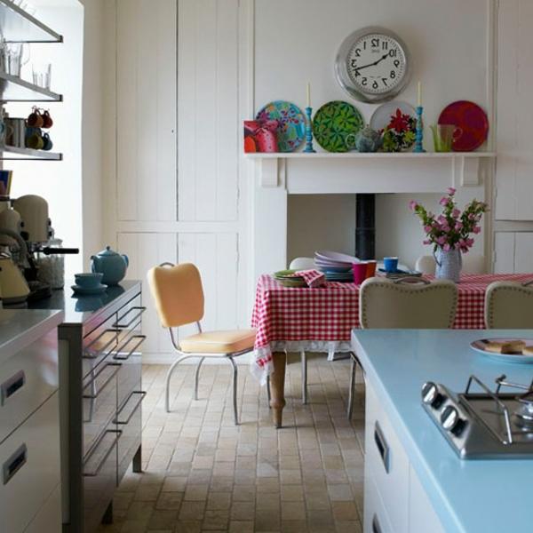 interessant-gestaltete-vintage-küche