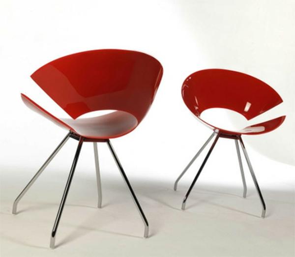 Stuhl design erstaunliche neue ideen for Lesesessel rot