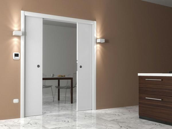 interior-design-ideen-retro-holztüren-schiebetüren-in-weiß