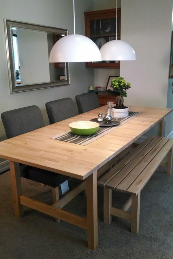 interior-design-ideen-sitzbank-holz-im-esszimmer-esszimmertisch-stühle