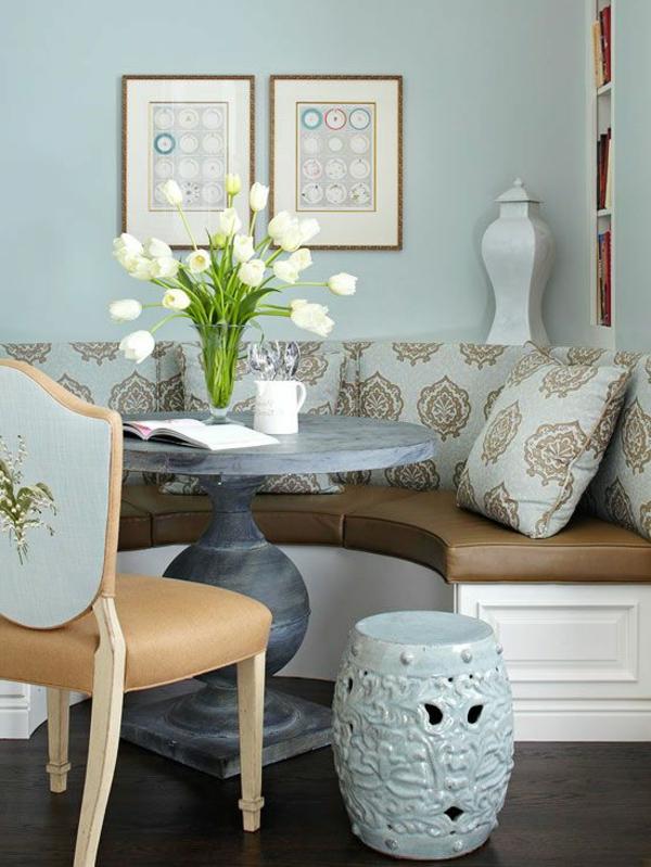 Interior Design Ideen Sitzbank Holz Im Esszimmer Weiß