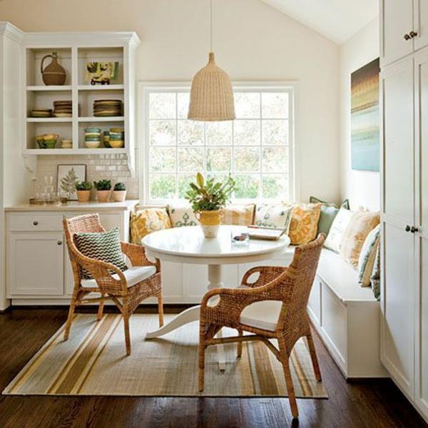 interior-design-ideen-sitzbank-holz-im-esszimmer