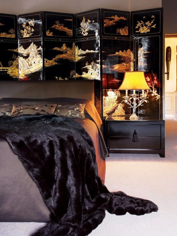 japanische-schiebetüren-als-dekoration-im-schlafzimmer- ein sehr schönes und cooles bild