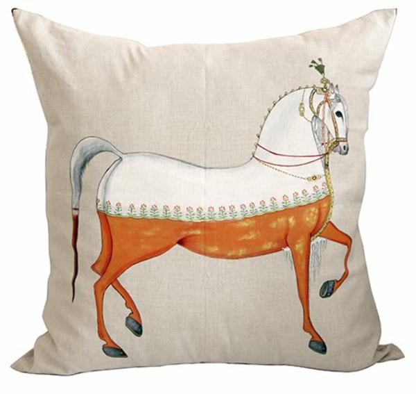 Kissenbedrucken - pferde-motiv