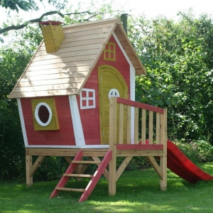 Das Spielhaus - super Spaß für die Kinder!